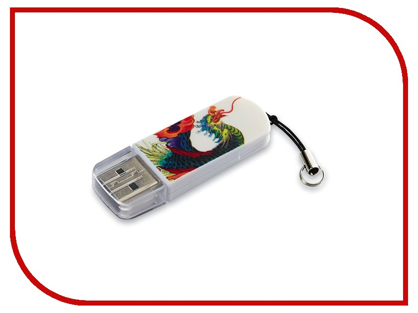 USB Flash Drive 16Gb - Verbatim Mini Tattoo Edition USB 2.0 Phoenix 49887