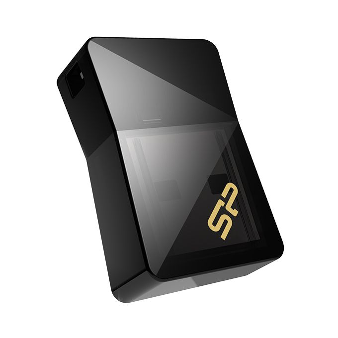 USB Flash Drive 32Gb - Silicon Power Jewel J08 USB 3.0 Black SP032GBUF3J08V1K<br>