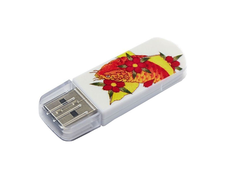 USB Flash Drive 8Gb - Verbatim Mini Tattoo Edition 2.0 Fish 49882