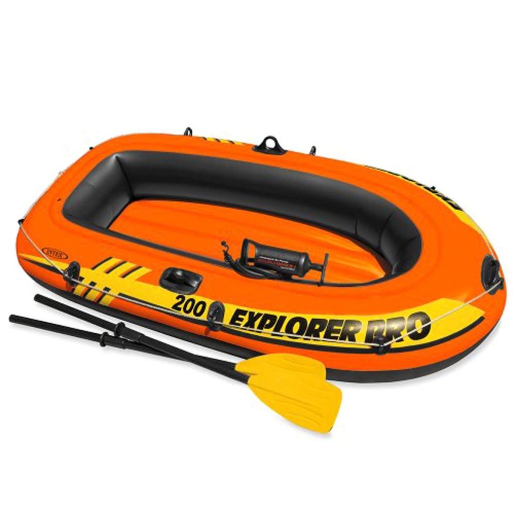Лодка Intex Explorer Pro 200 58357 лодка altair pro 385 airdeck