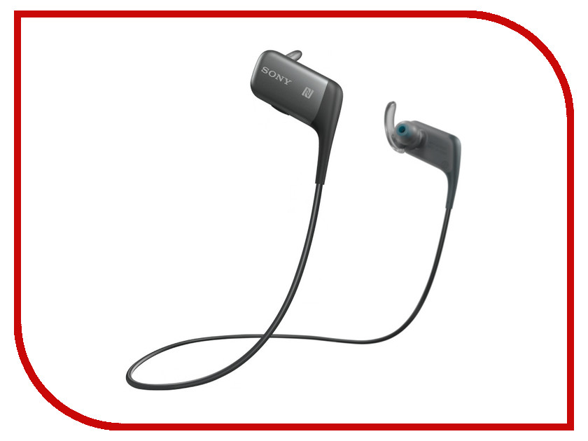 Гарнитура Sony MDR-AS600BT Black<br>
