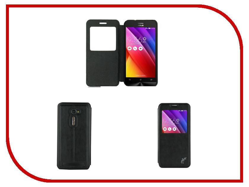 Аксессуар Чехол ASUS ZenFone 2 ZE500CL G-Case Slim Premium Black GG-630<br>