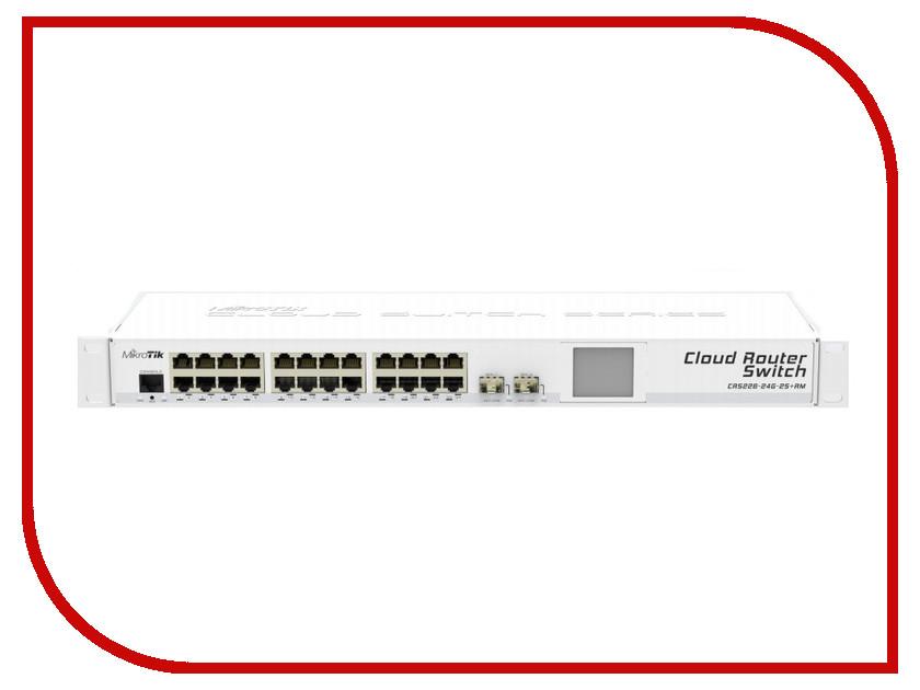 Коммутатор MikroTik Cloud Router Switch CRS226-24G-2S RM