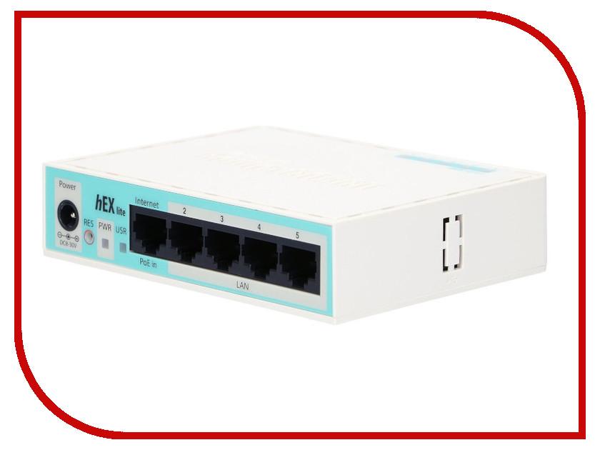 Роутер MikroTik hEX Lite RB750 r2