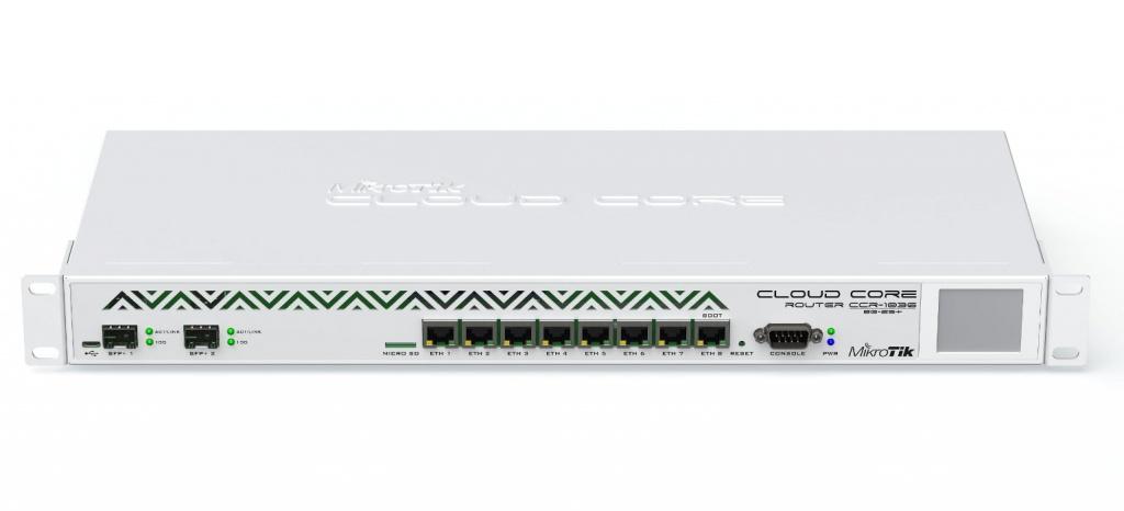 Коммутатор MikroTik Cloud Core Router CCR1036-8G-2S+