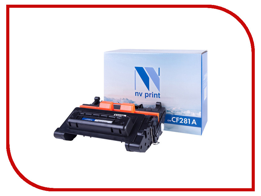 Картридж NV Print CF281A для HP LJ Enterprise M604/M605/M606dn/M630 картридж nv print q7516a для hp lj 5200 5200dtn 5200l 5200tn 5200n 5200lx