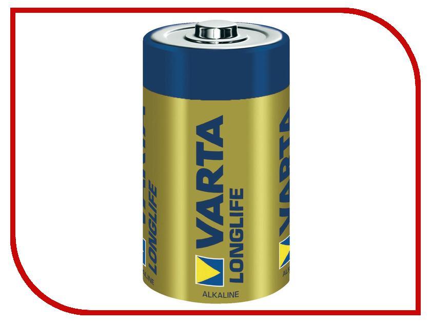 Батарейка D - Varta Longlife 4120 LR20 (2 штуки) 12816 батарейка d minamoto 1 5v r20 sr2 2 штуки