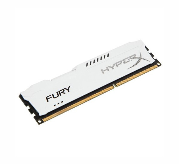 Модуль памяти Kingston HyperX Fury White DDR3 DIMM 1866MHz PC3-14400 CL10 - 4Gb HX318C10FW/4 цена и фото