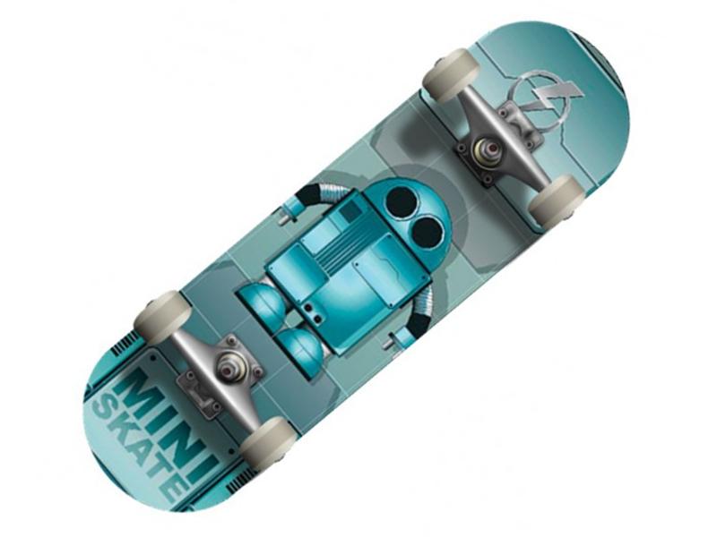 Пенниборд Спортивная Коллекция SC Robot SP-69 Mini-board<br>