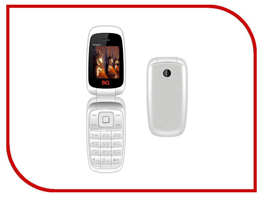Сотовый телефон BQ BQM-1801 Bangkok White