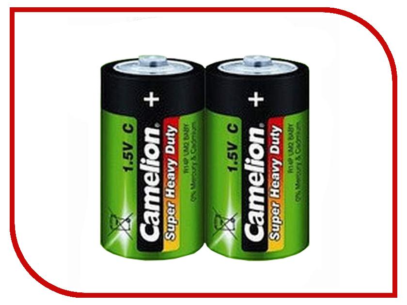 Батарейка C - Camelion Green R14 R14P-BP2G (2 штуки) батарейка c camelion green r14 r14p bp2g 2 штуки