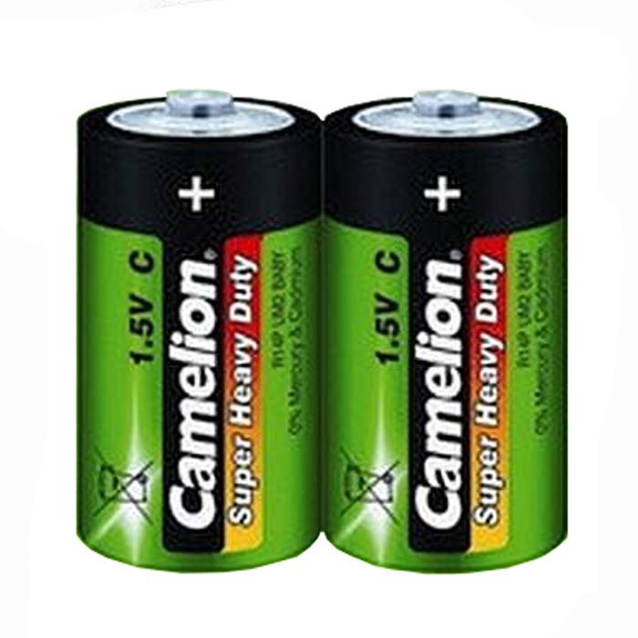 Батарейка C - Camelion Green R14 R14P-BP2G (2 штуки)
