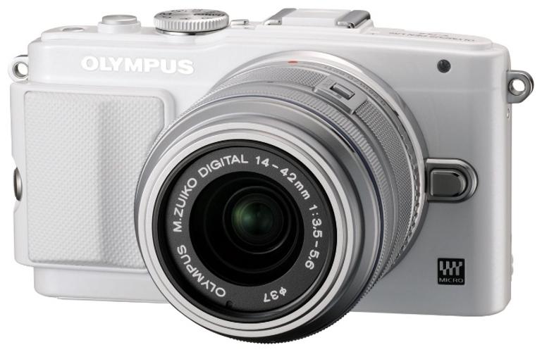 Фотоаппарат Olympus PEN E-PL6 Kit 14-42 mm II R White-Silver