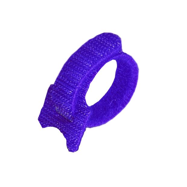Аксессуар Fortisflex 55304 СВ 16x310 Blue (20шт) Стяжка велькро
