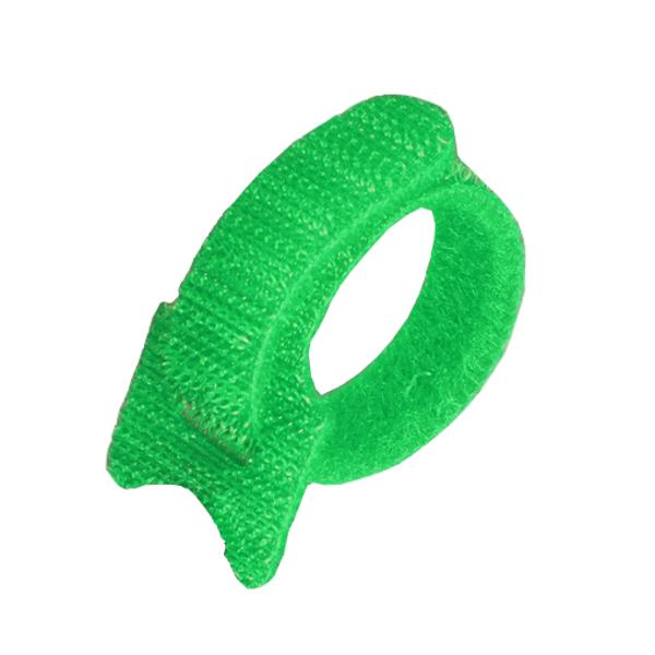 Аксессуар Fortisflex 55293 СВ 16x310 Green (20шт) Стяжка велькро