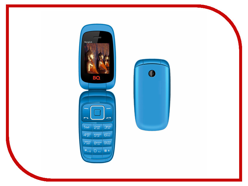 Сотовый телефон BQ BQM-1801 Bangkok Blue