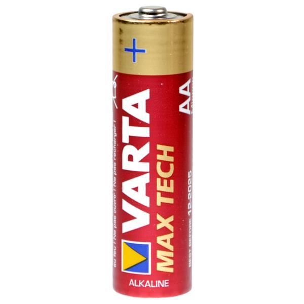 Батарейка AA - Varta MAX TECH 4706 LR6 (4 штуки) 07012
