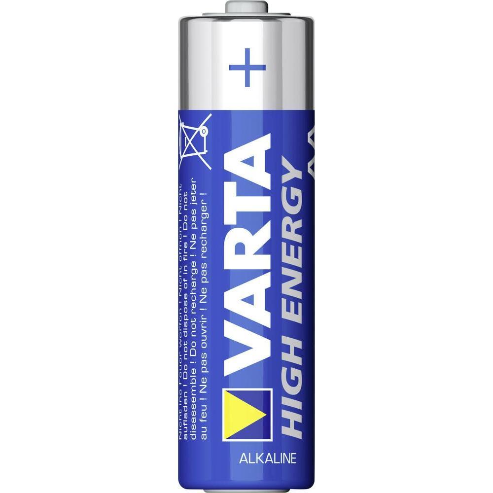 Фото - Батарейка AA - Varta High Energy LR6 (24 штуки) 13170 батарейка varta energy aa блистер 2шт