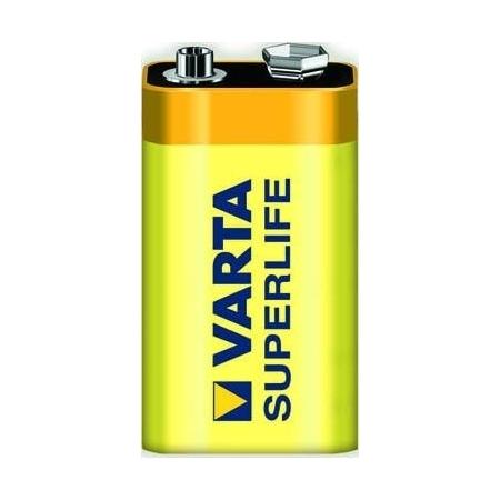 Батарейка КРОНА Varta 6F22 2022 08450