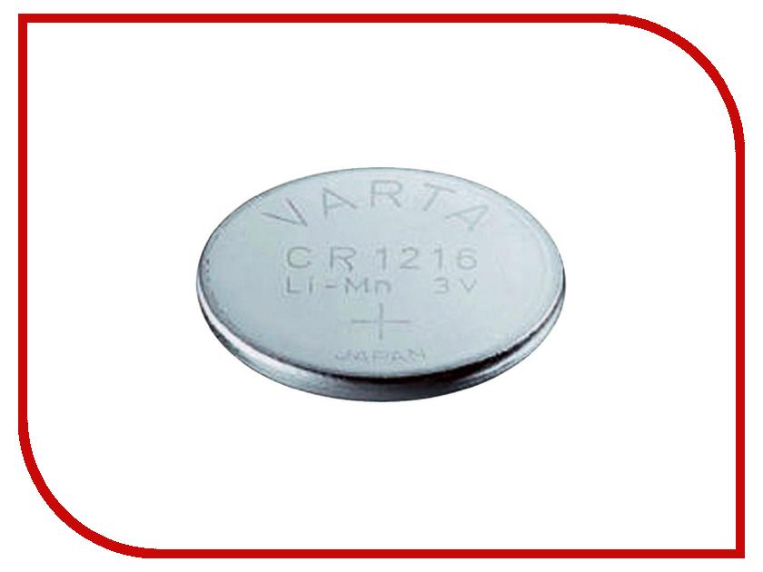 Батарейка CR1216 - Varta 6216 (1 штука) 01253