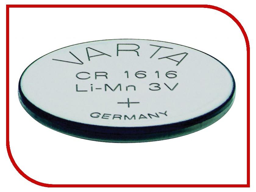 Батарейка CR1616 - Varta 6616 (1 штука) 01254