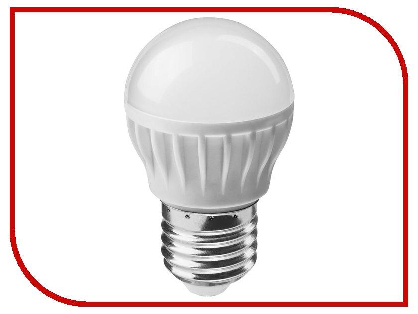 Лампочка ОнЛайт 71 646 OLL-G45-6-230-4K-E27<br>
