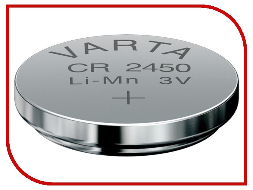 Батарейка CR2450 - Varta 6450 (2 штуки) 11260 батарейка varta 317 01862