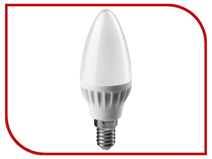 Лампочка ОнЛайт 71 628 OLL-C37-6-230-2.7K-E14-FR