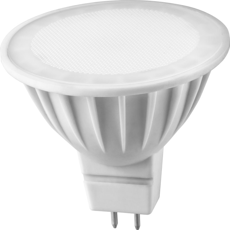 Лампочка ОнЛайт 71 637 OLL-MR16-5-230-3K-GU5.3<br>