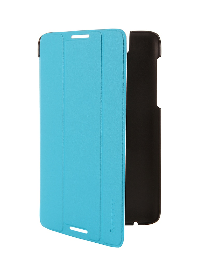 Аксессуар Чехол Lenovo A7-50 Folio Case and Film Blue-WW 888016551<br>