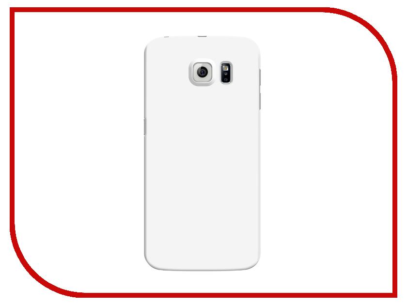 Аксессуар Чехол Deppa for Samsung Galaxy S6 Air Case + защитная пленка White 83174<br>