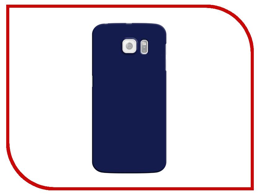 Аксессуар Чехол-накладка Samsung G920F Galaxy S6 Deppa Air Case Blue 83177<br>