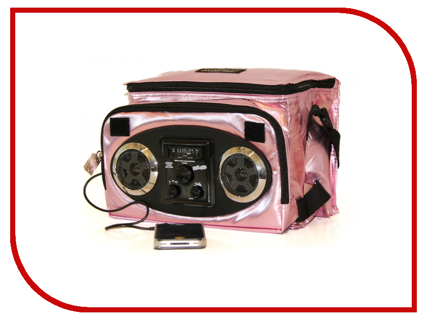 Сумка Fydelity Mixid Chillout COOLER Champagne Pink Metal 91114<br>