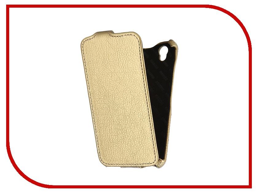 Аксессуар Чехол Huawei Ascend G630 Mariso Gold MHUAWEIG630