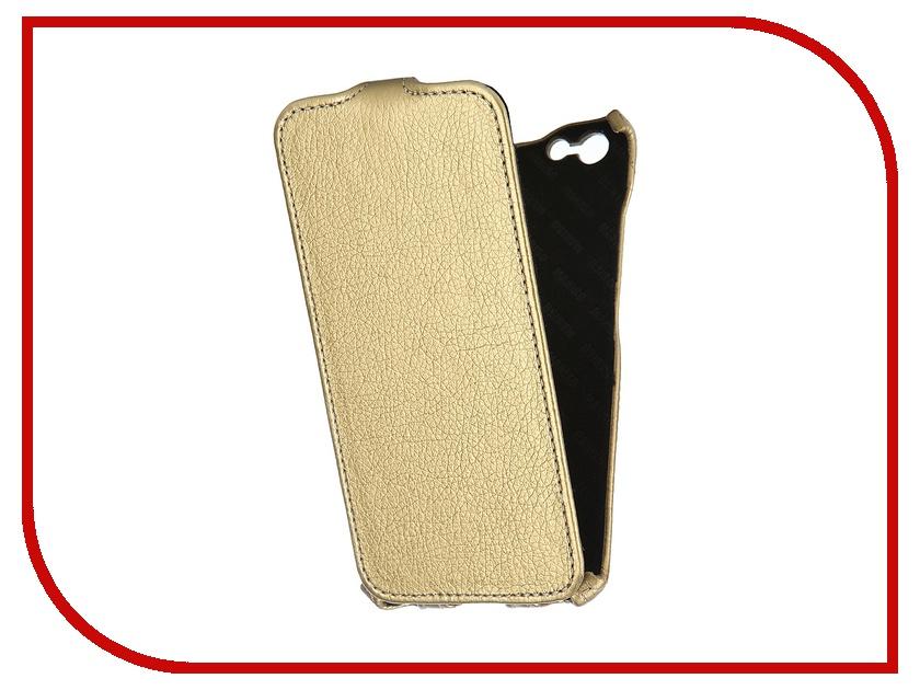Аксессуар Чехол Mariso для iPhone 6 Plus Gold MIPH655<br>