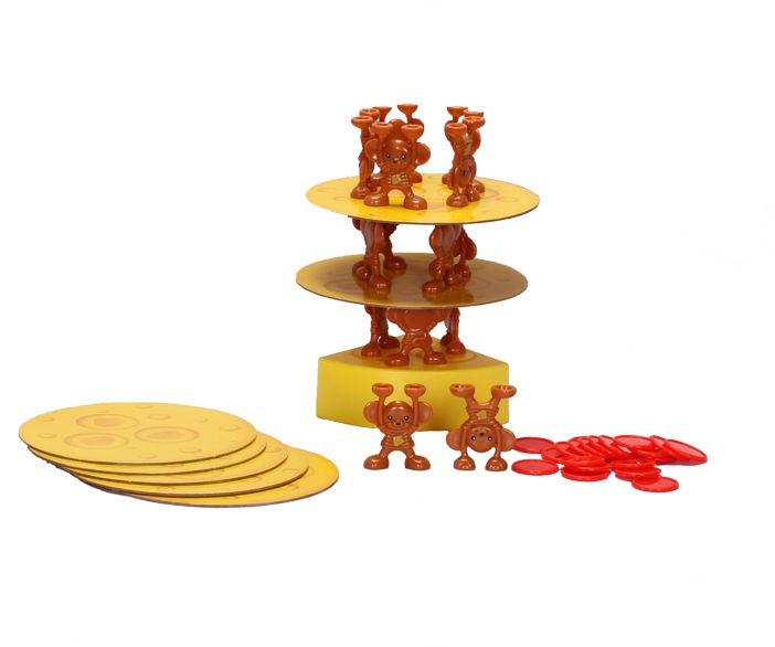 Настольная игра Zilmer Сырная башня ZIL0501-009 россия доска сырная в золоте котенок гжель