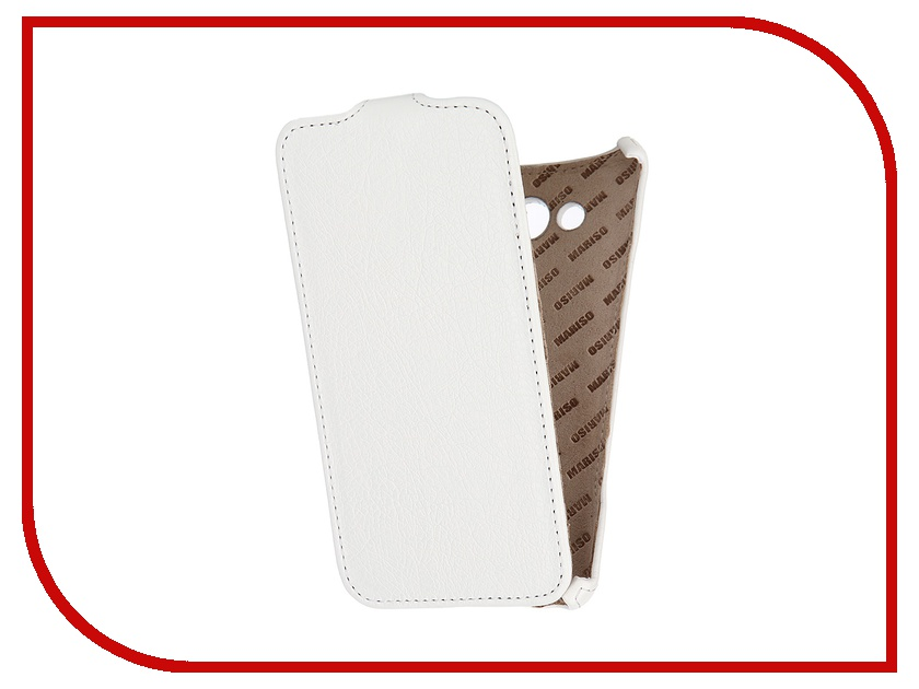 Аксессуар Чехол Samsung SM-A700 Galaxy A7 Mariso White MSAMGA700 чехол из экокожи для samsung galaxy a7 2016 sm a710 светло зеленый mariso page 7