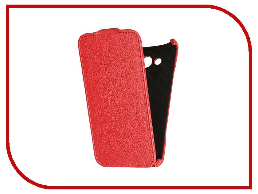 Аксессуар Чехол Samsung SM-A700 Galaxy A7 Mariso Red MSAMGA700 чехол из экокожи для samsung galaxy a7 2016 sm a710 светло зеленый mariso page 7