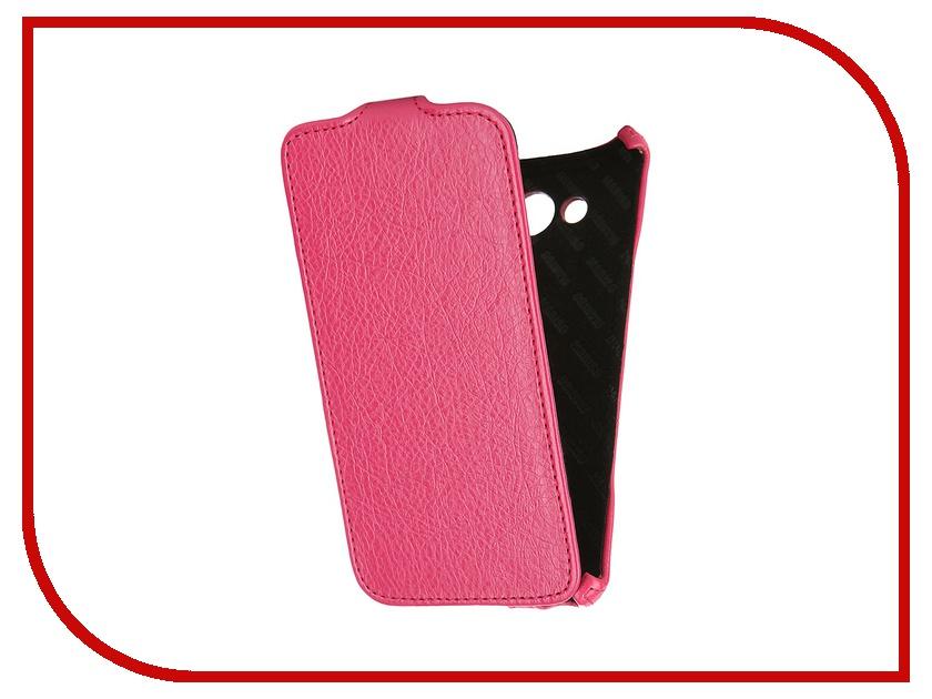 Аксессуар Чехол Samsung SM-A700 Galaxy A7 Mariso Pink MSAMGA700 чехол из экокожи для samsung galaxy a7 2016 sm a710 светло зеленый mariso page 7