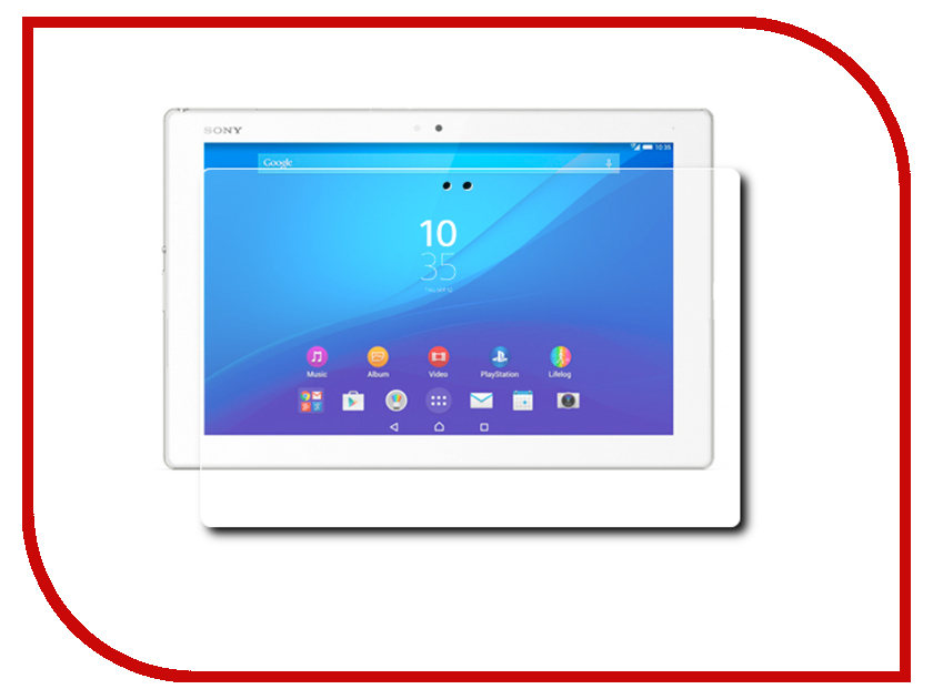 ��������� �������� ������ Sony Xperia Z4 Tablet Deppa Transperent 61386