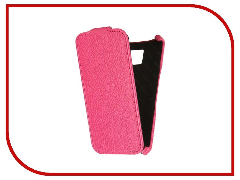 Аксессуар Чехол Samsung Galaxy S6 SM-G920 Mariso Pink MSAMS6G920 чехол из экокожи для samsung galaxy a7 2016 sm a710 светло зеленый mariso page 10