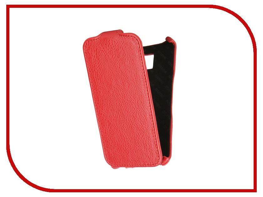 Аксессуар Чехол Samsung Galaxy S6 SM-G920 Mariso Red MSAMS6G920<br>