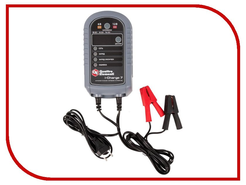 Зарядное устройство для автомобильных аккумуляторов Quattro Elementi i-Charge 7 771-695
