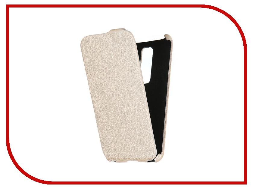 Аксессуар Чехол-книжка Mariso for ASUS ZenFone 2 Ultra Slim экокожа Beige Флотер MUSASUSZENFONE2<br>