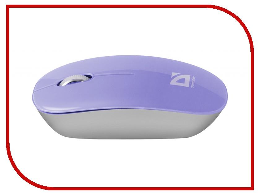 Мышь беспроводная Defender Laguna MS-245 Blue USB<br>