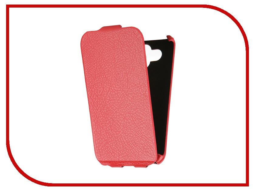 Аксессуар Чехол-книжка Mariso for LG AKA Ultra Slim экокожа Red Флотер MUSLGAKA аксессуар sony aka dm1 dog mount for action cam