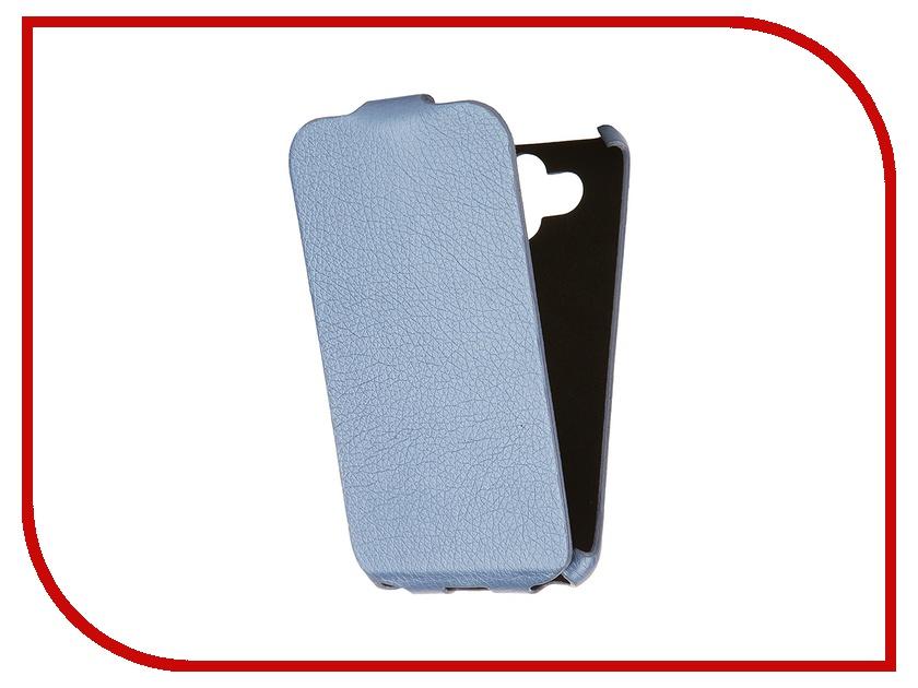Аксессуар Чехол-книжка Mariso for LG AKA Ultra Slim экокожа Blue Флотер MUSLGAKA<br>