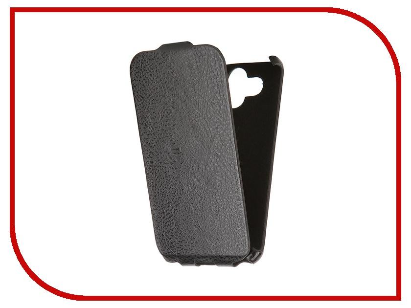 Аксессуар Чехол-книжка Mariso for LG AKA Ultra Slim экокожа Black Флотер MUSLGAKA