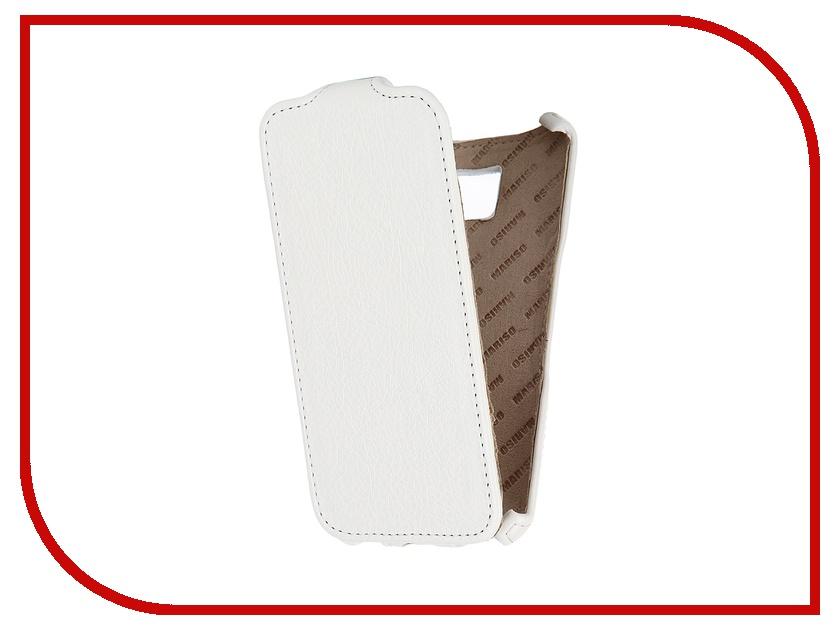 ��������� �����-������ Samsung Galaxy S6 SM-G920 Mariso Ultra Slim ������� White ������ MUSSAMS6G920