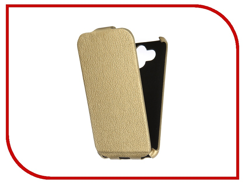 Аксессуар Чехол-книжка Mariso for LG AKA Ultra Slim экокожа Gold Флотер MUSLGAKA аксессуар sony aka dm1 dog mount for action cam